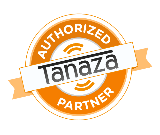 authorized partner of Tanaza logo